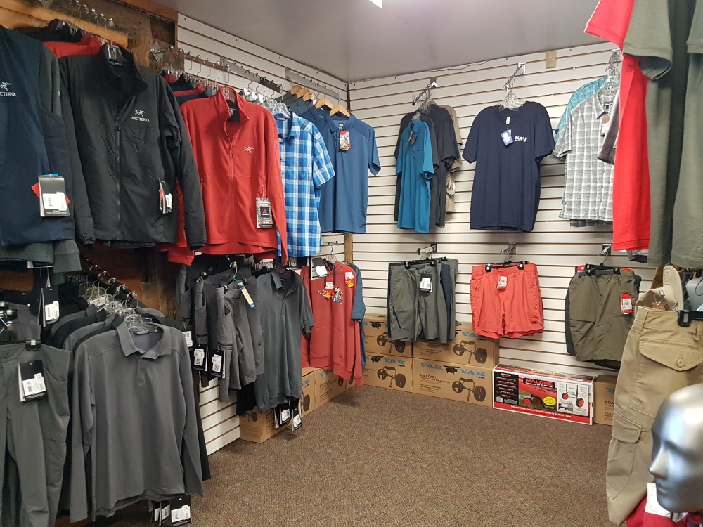 Huge selection of men's and women's clothing