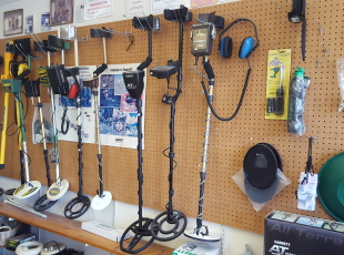 Metal detector sales and rentals