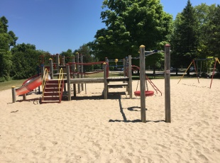 Playground areas