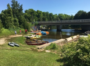 Canoe and watercraft rentals