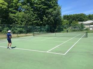 Tennis in sauble