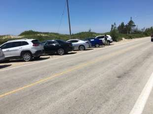 Sauble Beach Parking
