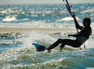 Sauble Beach Kitesurfing