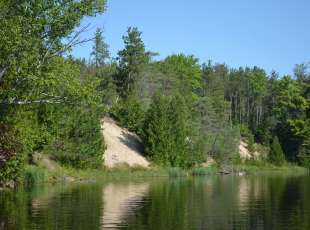 Sandy Banks of the Sauble River