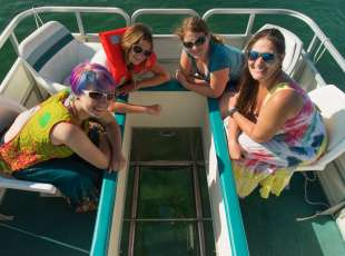 Glass-Bottom Boat - 6 passengers - Oliphant Location